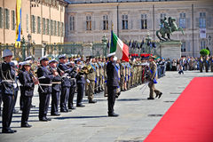 Celebrations of Italian Republic Day Royalty Free Stock Photography