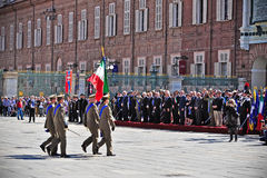 Celebrations of Italian Republic Day Royalty Free Stock Images