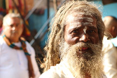 During celebrations Makar Sankranti. Royalty Free Stock Photos