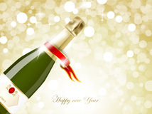 Celebrations of New year Stock Images