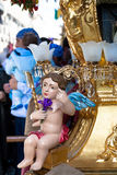 Celebrations for Sant' Agata feast,  Sicily Royalty Free Stock Image