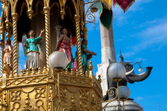 Celebrations for Sant' Agata feast,  Sicily Royalty Free Stock Photos