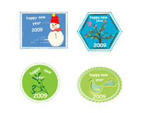 Celebrations stamps Royalty Free Stock Photo