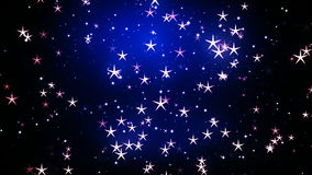 Celebrations Stars 1 stock footage