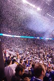 Celebrations of Vancouver Canucks Stock Photo