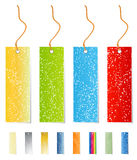 Celebrative sale tags Stock Images