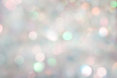 Silver background defocused Royalty Free Stock Photography