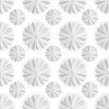 Celebratory background. Volumetric white snowflake on a white background. Xmas. Royalty Free Stock Photo