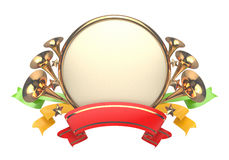 Celebratory badge Royalty Free Stock Images