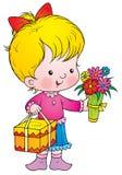 Celebratory bouquet royalty free illustration