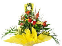 Celebratory bouquet of various flowers Stock Photography