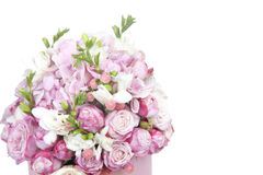 Celebratory bouquet of various flowers Royalty Free Stock Photo