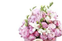 Celebratory bouquet of various flowers Stock Photos