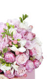 Celebratory bouquet of various flowers Stock Images