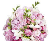 Celebratory bouquet of various flowers Royalty Free Stock Photos