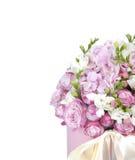 Celebratory bouquet of various flowers Stock Image