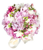 Celebratory bouquet of various flowers Royalty Free Stock Image