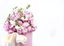 Celebratory bouquet of various flowers Royalty Free Stock Images