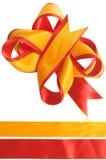 celebratory bow Arkivbilder