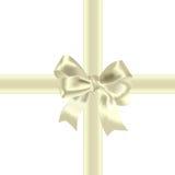 Celebratory bow Stock Images