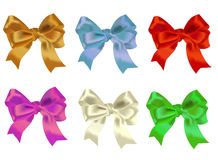 Celebratory bows Royalty Free Stock Photos