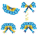 Celebratory bows Royalty Free Stock Images
