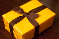 Celebratory box for candy or a gift. Royalty Free Stock Photos