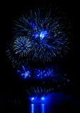 Celebratory bright firework Royalty Free Stock Image