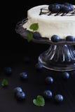 Celebratory cake with white frosting Royalty Free Stock Photo