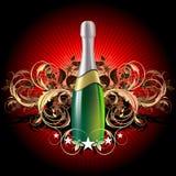 celebratory champagne Arkivfoto