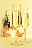 Celebratory Champagne Stock Photo