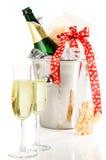 Celebratory Champagne Royalty Free Stock Photos
