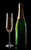 Celebratory champagne Royalty Free Stock Images