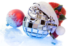 Celebratory christmas mood Royalty Free Stock Photos