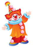 The celebratory clown Royalty Free Stock Images