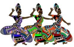 Celebratory dance Royalty Free Stock Image