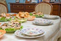 Celebratory dinner royalty free stock photography