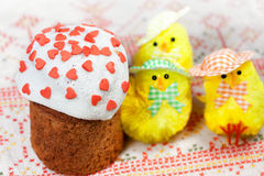 Celebratory Easter bread Royalty Free Stock Photography