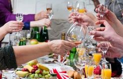 Celebratory feast. Stock Photo