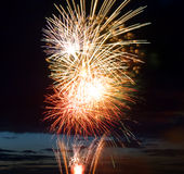 Celebratory firework Royalty Free Stock Images