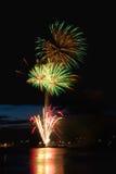 Celebratory firework stock photography