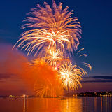 Celebratory  firework Royalty Free Stock Photography