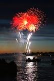 Celebratory firework royalty free stock images