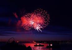 Celebratory firework stock photos