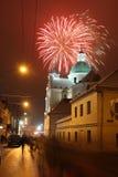 Celebratory Fireworks Royalty Free Stock Photography