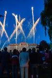 Celebratory fireworks Royalty Free Stock Images