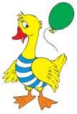 Celebratory goose (vector). Vector clip-art / children's illustration for yours design Royalty Free Stock Photo