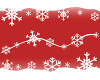 Celebratory New Year`s and Christmas red background.  Royalty Free Stock Images