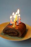Celebratory pie Stock Photo