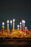 Celebratory pie Stock Images